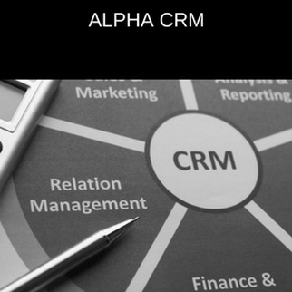 Alpha CRM - CRM software by Alpha Response