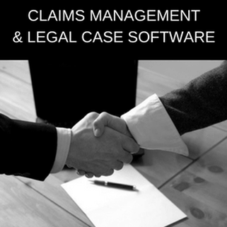 Claims management software and legal case software link